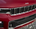 2021 Jeep Grand Cherokee L Overland Grill Wallpapers 150x120 (26)