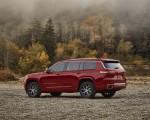 2021 Jeep Grand Cherokee L Overland Rear Three-Quarter Wallpapers  150x120 (15)