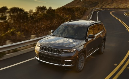 2021 Jeep Grand Cherokee L Summit Reserve Wallpapers HD