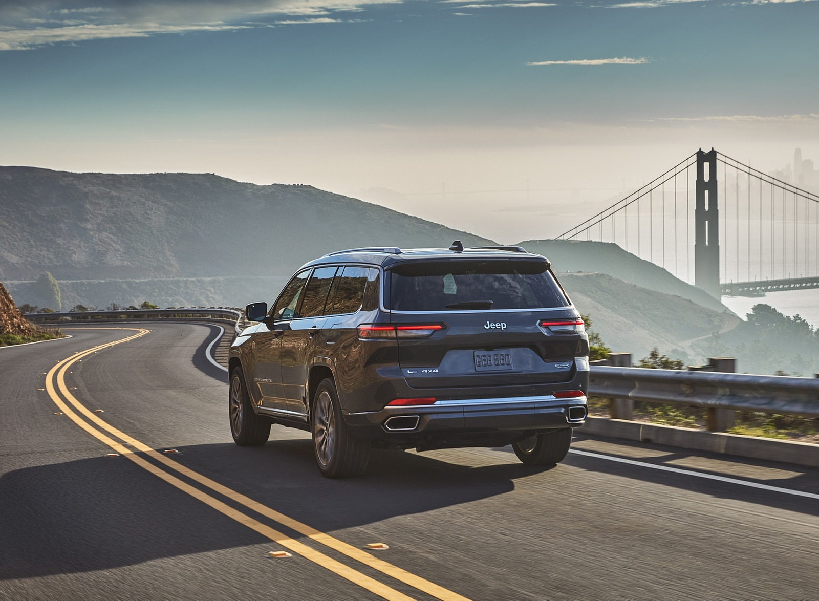 2021 Jeep Grand Cherokee L Summit Reserve Rear Wallpapers (8)
