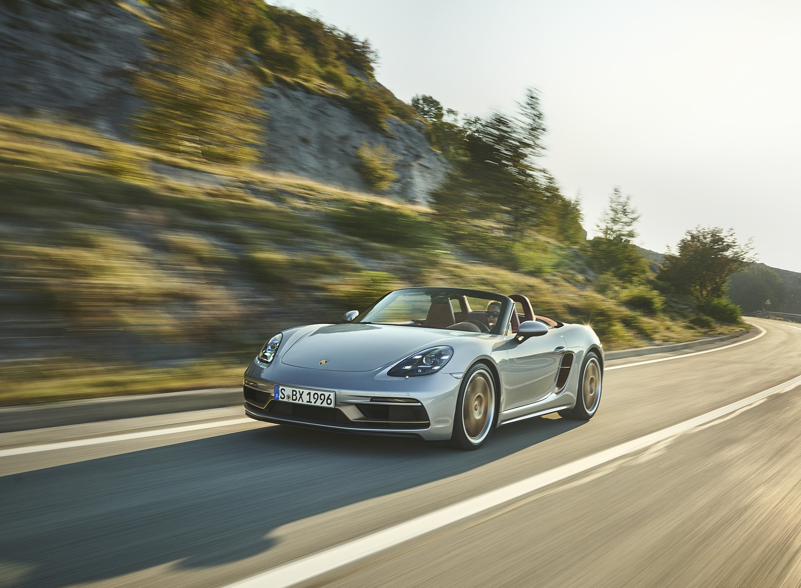 2021 Porsche 718 Boxster GTS 4.0 25 years Front Three-Quarter Wallpapers (1)