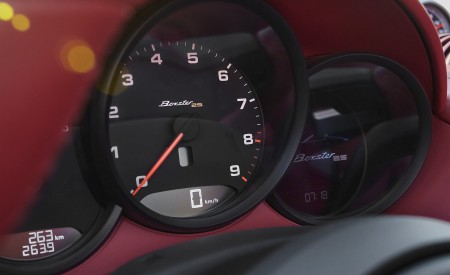 2021 Porsche 718 Boxster GTS 4.0 25 years Instrument Cluster Wallpapers 450x275 (8)