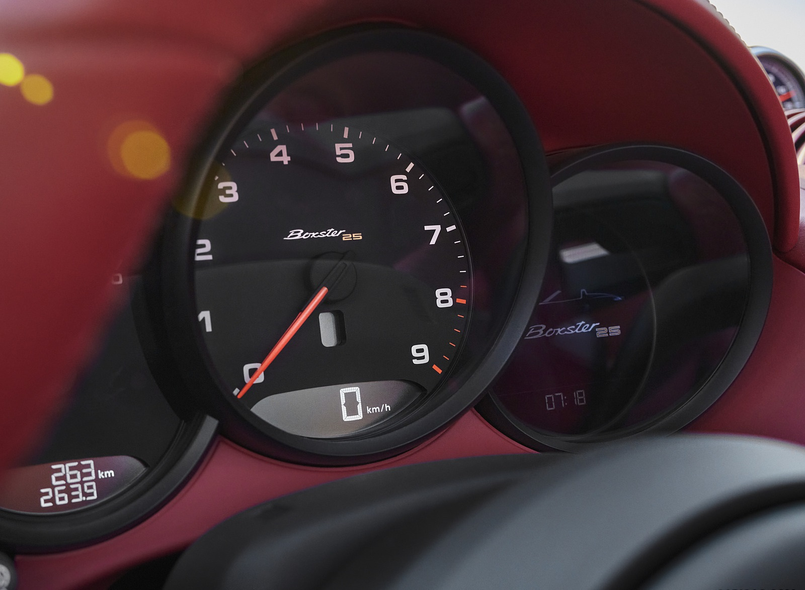 2021 Porsche 718 Boxster GTS 4.0 25 years Instrument Cluster Wallpapers (8)
