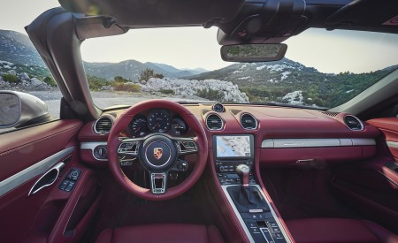 2021 Porsche 718 Boxster GTS 4.0 25 years Interior Cockpit Wallpapers 450x275 (9)