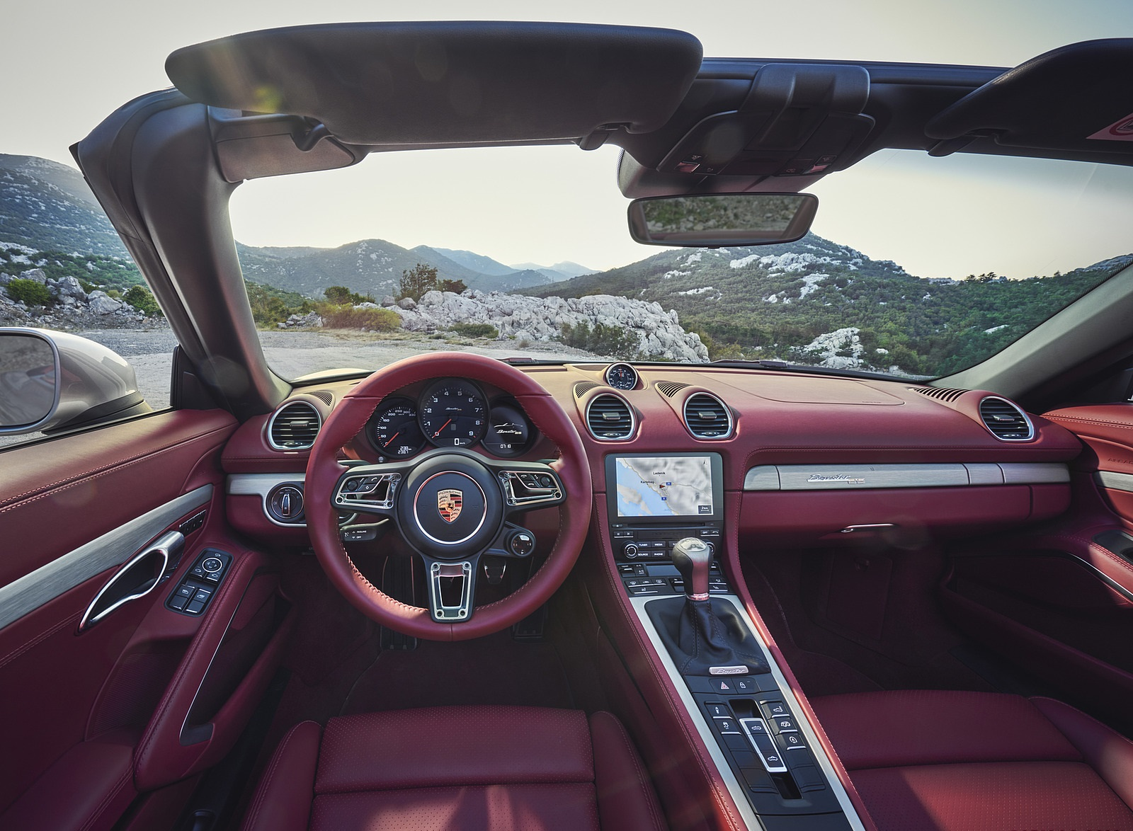 2021 Porsche 718 Boxster GTS 4.0 25 years Interior Cockpit Wallpapers (9)