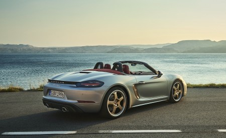 2021 Porsche 718 Boxster GTS 4.0 25 years Rear Three-Quarter Wallpapers 450x275 (4)