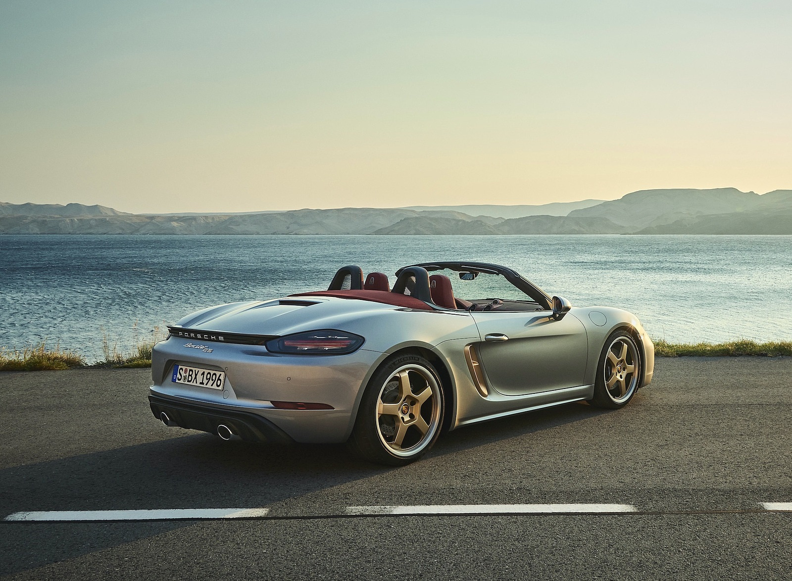 2021 Porsche 718 Boxster GTS 4.0 25 years Rear Three-Quarter Wallpapers (4)