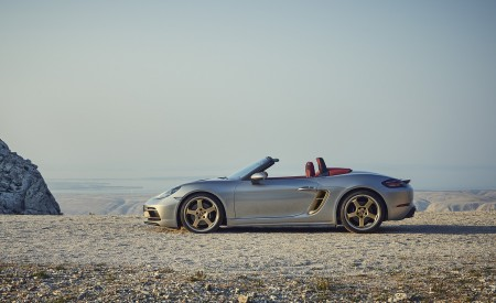 2021 Porsche 718 Boxster GTS 4.0 25 years Side Wallpapers 450x275 (5)
