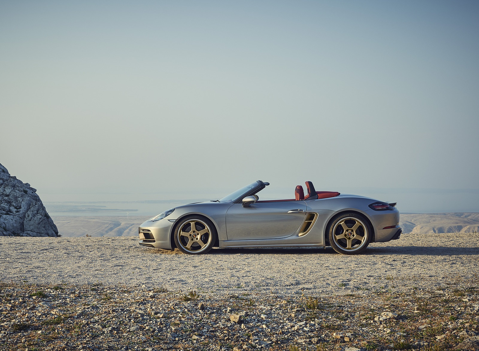 2021 Porsche 718 Boxster GTS 4.0 25 years Side Wallpapers (5)