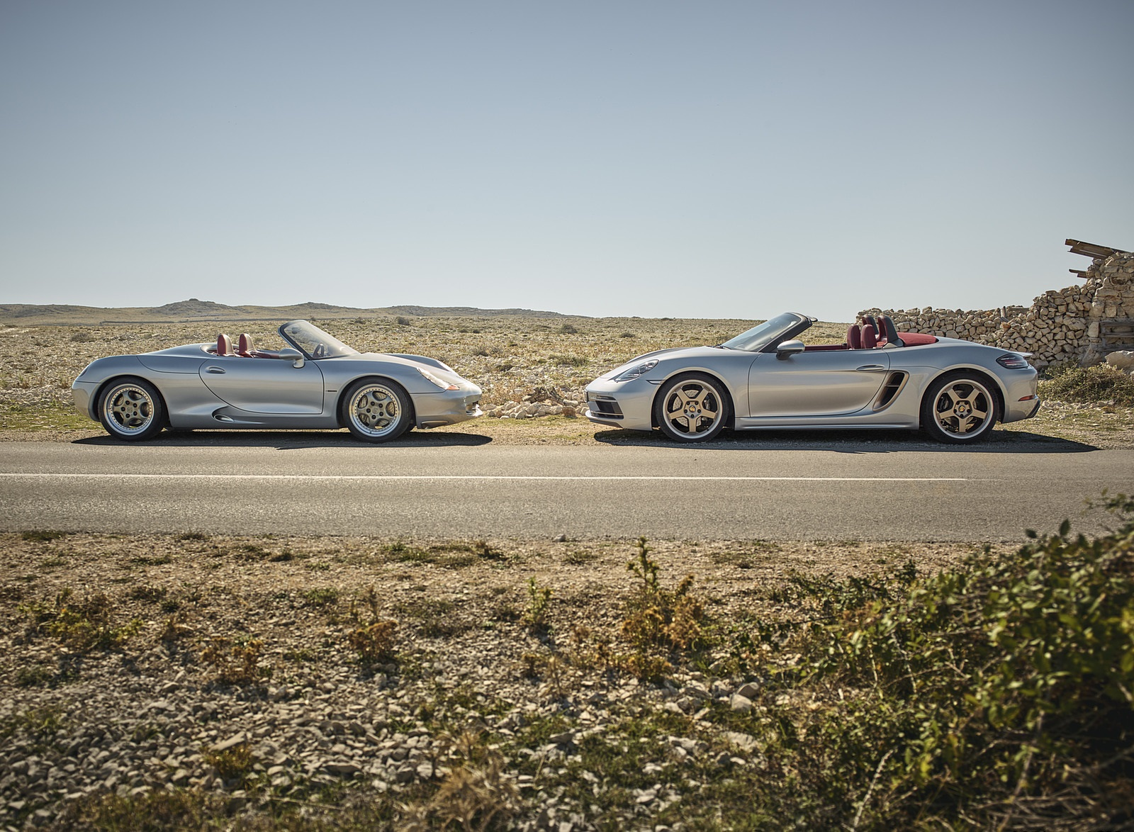2021 Porsche 718 Boxster GTS 4.0 25 years Side Wallpapers (6)