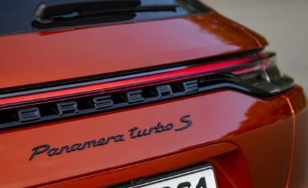 2021 Porsche Panamera Turbo S Sport Turismo (Color: Papaya Metallic) Badge Wallpapers 450x275 (58)
