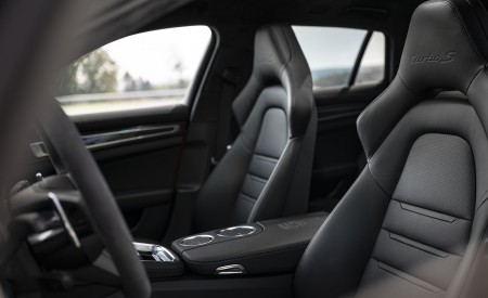 2021 Porsche Panamera Turbo S Sport Turismo (Color: Papaya Metallic) Interior Seats Wallpapers 450x275 (62)
