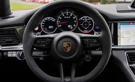 2021 Porsche Panamera Turbo S Sport Turismo (Color: Papaya Metallic) Interior Steering Wheel Wallpapers 450x275 (64)
