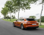 2021 Porsche Panamera Turbo S Sport Turismo (Color: Papaya Metallic) Rear Three-Quarter Wallpapers 150x120 (33)