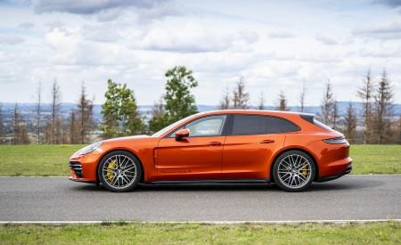 2021 Porsche Panamera Turbo S Sport Turismo (Color: Papaya Metallic) Side Wallpapers 450x275 (51)