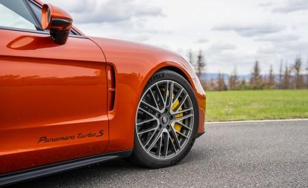 2021 Porsche Panamera Turbo S Sport Turismo (Color: Papaya Metallic) Wheel Wallpapers 450x275 (54)