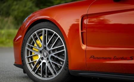 2021 Porsche Panamera Turbo S Sport Turismo (Color: Papaya Metallic) Wheel Wallpapers 450x275 (53)