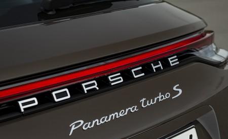 2021 Porsche Panamera Turbo S Sport Turismo (Color: Truffle Brown Metallic) Badge Wallpapers 450x275 (106)