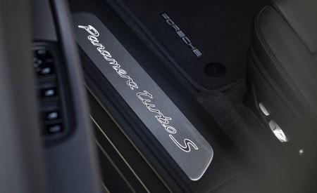 2021 Porsche Panamera Turbo S Sport Turismo (Color: Truffle Brown Metallic) Door Sill Wallpapers 450x275 (113)