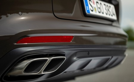 2021 Porsche Panamera Turbo S Sport Turismo (Color: Truffle Brown Metallic) Exhaust Wallpapers 450x275 (105)