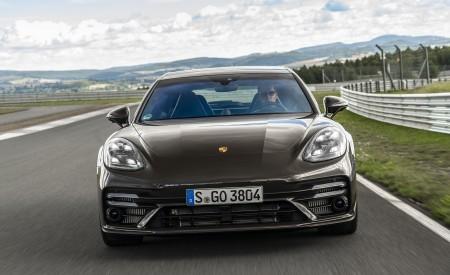 2021 Porsche Panamera Turbo S Sport Turismo (Color: Truffle Brown Metallic) Front Wallpapers 450x275 (66)