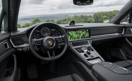 2021 Porsche Panamera Turbo S Sport Turismo (Color: Truffle Brown Metallic) Interior Cockpit Wallpapers 450x275 (111)