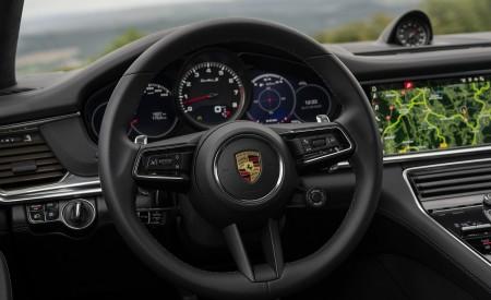 2021 Porsche Panamera Turbo S Sport Turismo (Color: Truffle Brown Metallic) Interior Steering Wheel Wallpapers 450x275 (107)