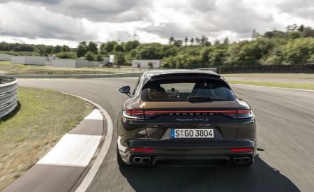 2021 Porsche Panamera Turbo S Sport Turismo (Color: Truffle Brown Metallic) Rear Wallpapers 450x275 (75)