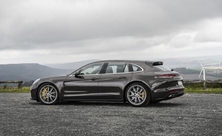 2021 Porsche Panamera Turbo S Sport Turismo (Color: Truffle Brown Metallic) Side Wallpapers 450x275 (88)