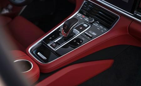 2021 Porsche Panamera Turbo S Sport Turismo (US-Spec; Color: GT Silver Metallic) Central Console Wallpapers 450x275 (30)