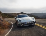 2021 Porsche Panamera Turbo S Sport Turismo (US-Spec; Color: GT Silver Metallic) Front Wallpapers 150x120 (4)