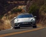 2021 Porsche Panamera Turbo S Sport Turismo (US-Spec; Color: GT Silver Metallic) Front Wallpapers 150x120 (10)