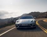 2021 Porsche Panamera Turbo S Sport Turismo (US-Spec; Color: GT Silver Metallic) Front Wallpapers 150x120 (2)