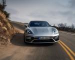 2021 Porsche Panamera Turbo S Sport Turismo (US-Spec; Color: GT Silver Metallic) Front Wallpapers 150x120 (7)