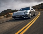 2021 Porsche Panamera Turbo S Sport Turismo (US-Spec; Color: GT Silver Metallic) Front Wallpapers  150x120 (8)