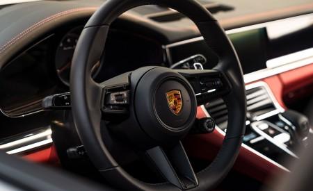 2021 Porsche Panamera Turbo S Sport Turismo (US-Spec; Color: GT Silver Metallic) Interior Steering Wheel Wallpapers 450x275 (24)