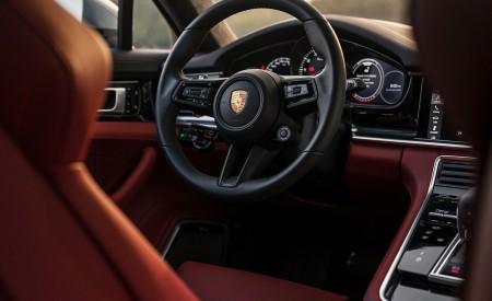 2021 Porsche Panamera Turbo S Sport Turismo (US-Spec; Color: GT Silver Metallic) Interior Wallpapers 450x275 (27)