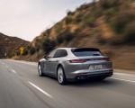 2021 Porsche Panamera Turbo S Sport Turismo (US-Spec; Color: GT Silver Metallic) Rear Wallpapers 150x120 (11)