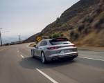 2021 Porsche Panamera Turbo S Sport Turismo (US-Spec; Color: GT Silver Metallic) Rear Wallpapers 150x120 (12)