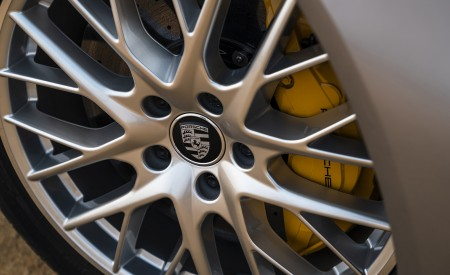 2021 Porsche Panamera Turbo S Sport Turismo (US-Spec; Color: GT Silver Metallic) Wheel Wallpapers 450x275 (20)