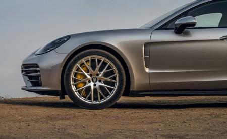2021 Porsche Panamera Turbo S Sport Turismo (US-Spec; Color: GT Silver Metallic) Wheel Wallpapers 450x275 (19)