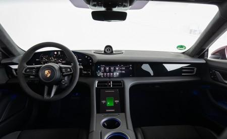 2021 Porsche Taycan (Color: Cherry Metallic) Interior Cockpit Wallpapers 450x275 (123)