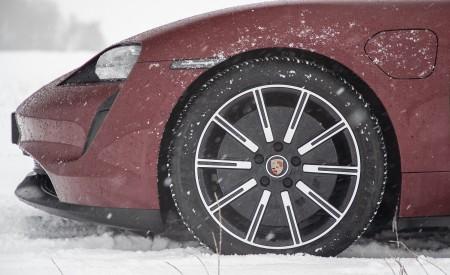 2021 Porsche Taycan (Color: Cherry Metallic) Wheel Wallpapers 450x275 (119)