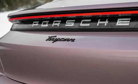 2021 Porsche Taycan (Color: Frozen Berry Metallic) Badge Wallpapers 450x275 (190)