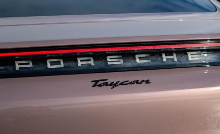 2021 Porsche Taycan (Color: Frozen Berry Metallic) Badge Wallpapers 450x275 (189)