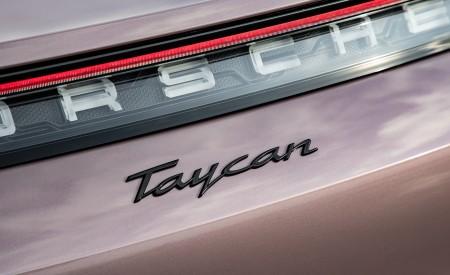 2021 Porsche Taycan (Color: Frozen Berry Metallic) Badge Wallpapers  450x275 (188)