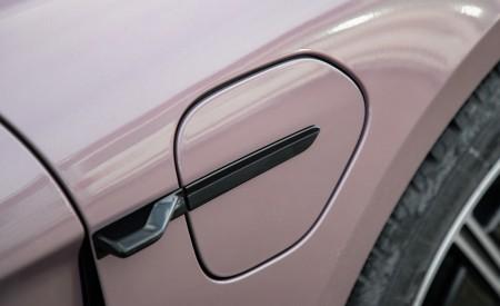 2021 Porsche Taycan (Color: Frozen Berry Metallic) Charging Port Wallpapers 450x275 (186)