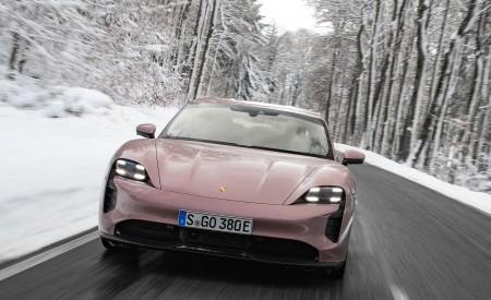 2021 Porsche Taycan (Color: Frozen Berry Metallic) Front Wallpapers 450x275 (161)