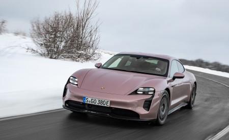 2021 Porsche Taycan (Color: Frozen Berry Metallic) Front Wallpapers 450x275 (159)