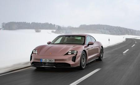 2021 Porsche Taycan (Color: Frozen Berry Metallic) Front Wallpapers  450x275 (158)